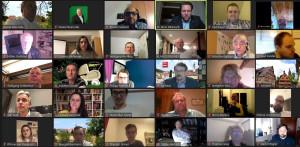 Video Konferenz Innenstädte